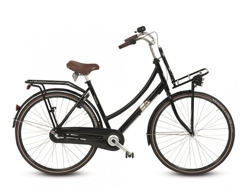Sparta Pick-Up Plus Damesfiets 57cm 3V - Zwart